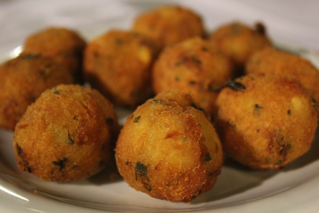 Bolinho de Bacalhau Restaurante do Porto (Foto: Ingrediente da Vez)