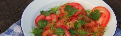 #segundasemcarne | Salada de coentro e funcho