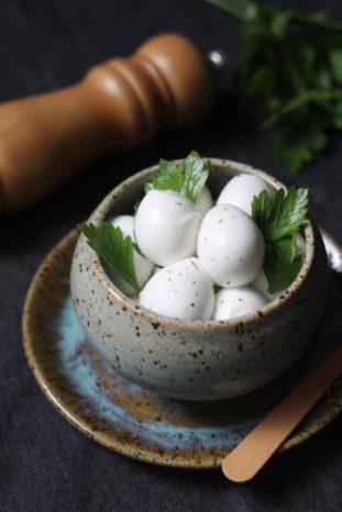 Queijo Mozzarella de Búfula Foto Ingrediente da Vez