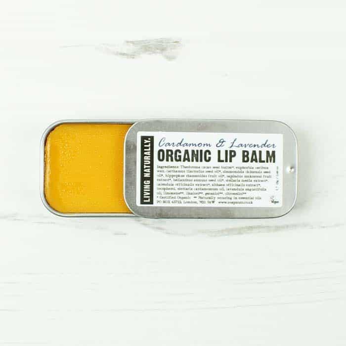 Living Naturally Organic Lip Balm Lavender