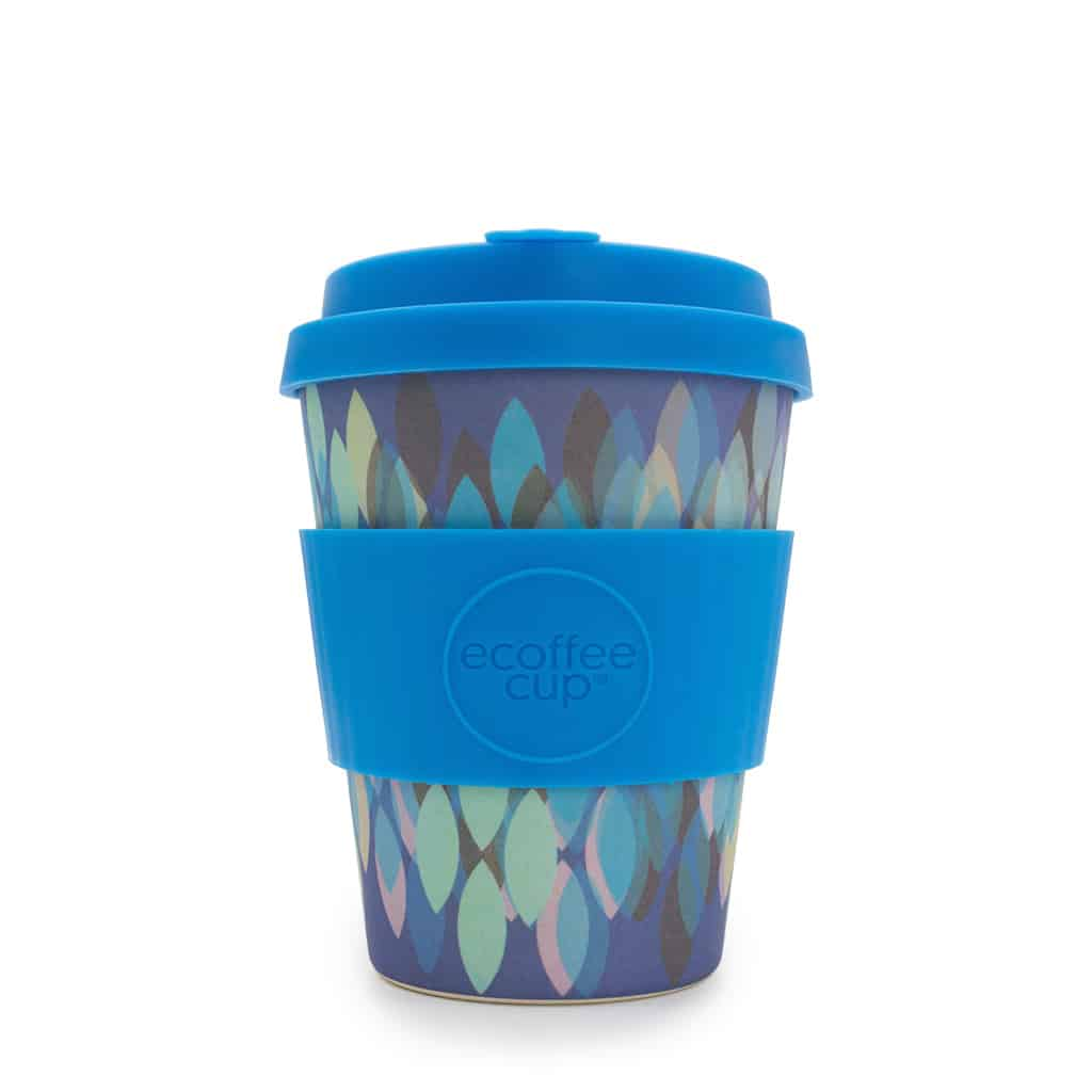 Ecoffee Sakura Blue 120z