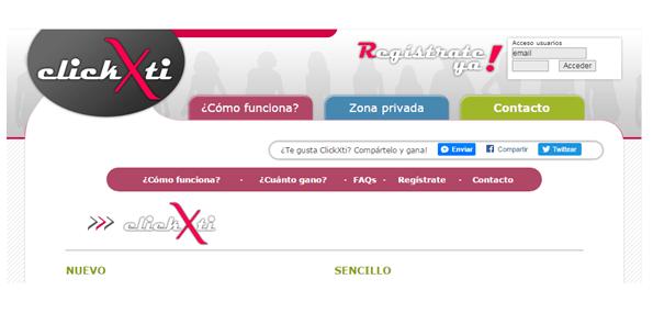 Clickxti