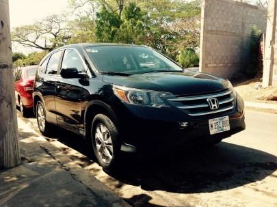 IMG_Honda CRV en managua 2014 (1)