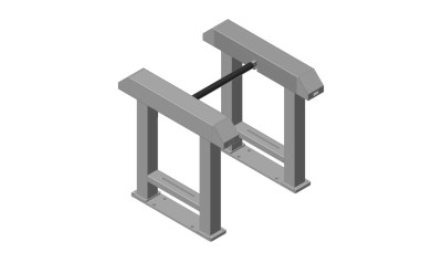 optical-turnstile-drop-arm-single-lane