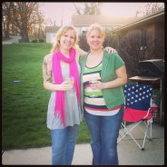 Jenn and I at her house