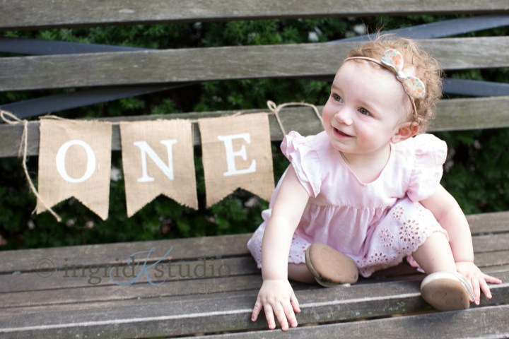 Isla's First Birthday Session, Then & Now | Jersey City NJ Baby & Child Photographer