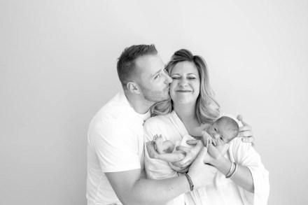 Ingrid K. Studio Newborn Portrait Session