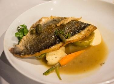 Lava Stone Cooked Fish