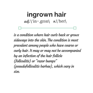 Ingrown hair, razor bumps and shaving rash can be treated and prevented with some of the advice and products found on ingrownhair.ca