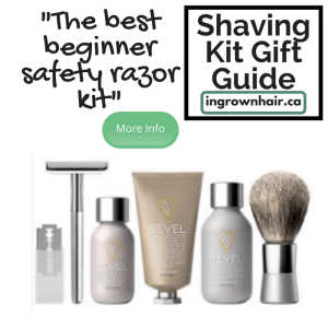 Shaving kits are the perfect gift idea. Pick up this kit for someone who wants to try a safety razor