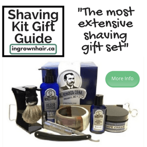 We love how extensive this gift set is. Shaving kits are the perfect gift idea