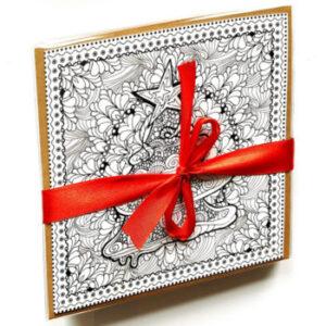 Prachtige Kerstkaarten Om In Te Kleuren Het Zingevingsplatform