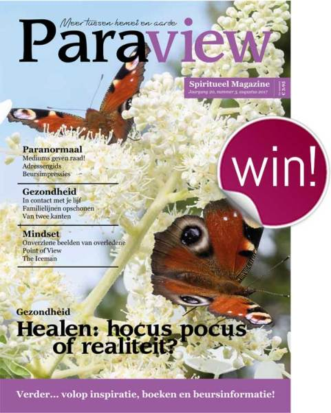 Winactie - Maak 3x kans op het spirituele Paraview Magazine inclusief 2 toegangskaarten voor de Paraview beurs! Kijk op ingspire.nl