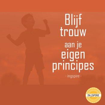 Blijf bij jezelf quote: Blijf trouw aan je eigen principes - citaat ingspire.nl