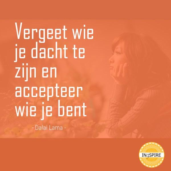 Wijsheid van Dalai Lama over zelfacceptatie - ingspire.nl