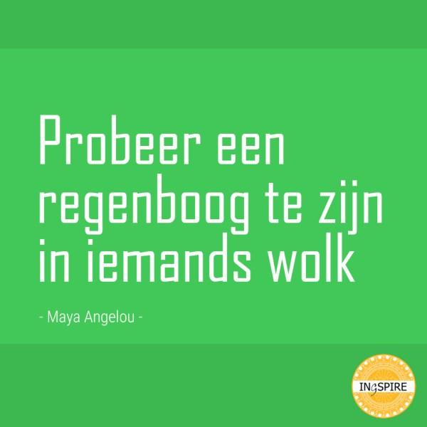 Mooi citaat vanMaya Angelou