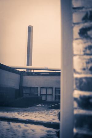 Biofoto på tur på Hunsfos Fabrikker