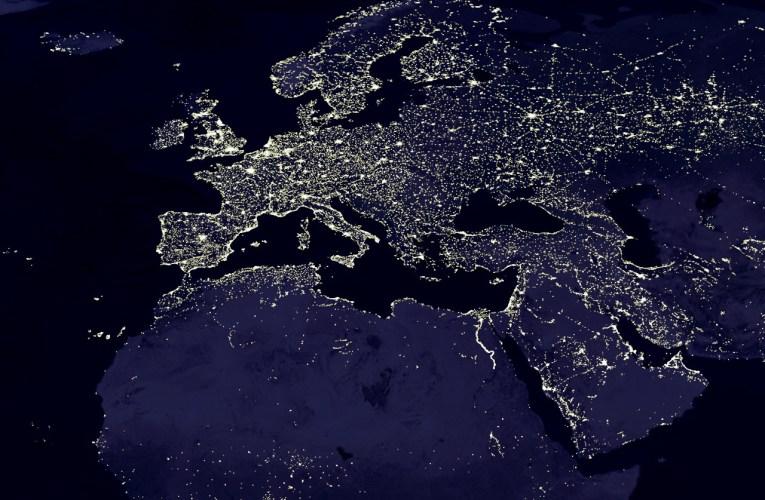 L'inquinamento luminoso dallo spazio