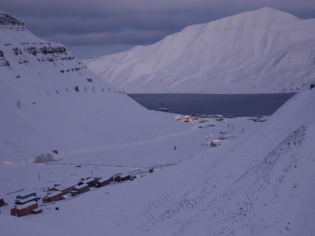 Longyearbyen, foto di Ingrid Hunstad