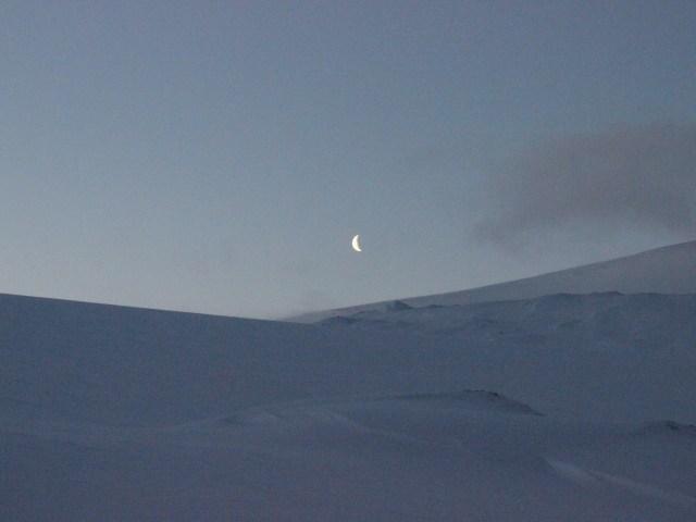 la luna, foto di Ingrid Hunstad