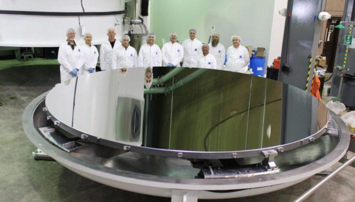 Specchio del telescopio DKIST