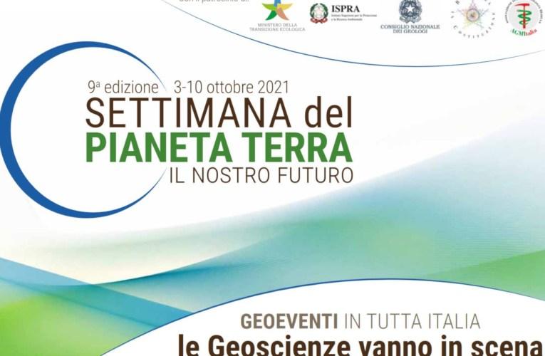 """L'INGV partecipa alla IX edizione della """"SETTIMANA del PIANETA TERRA"""""""