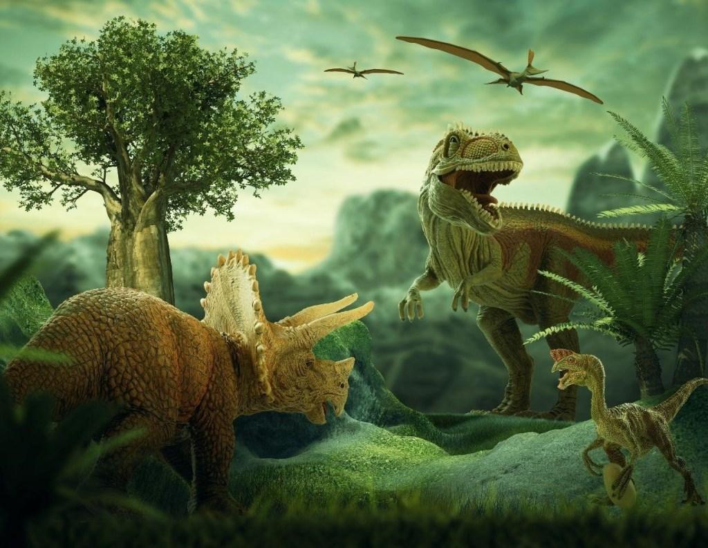 nell'era dei dinosauri la temperatura della Terra era piu' alta di 6-8 gradi