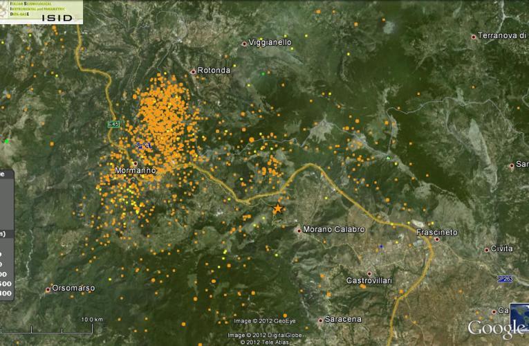 Terremoto in Calabria-Basilicata (Pollino) del 28 maggio: relazione aggiornata alle ore 18.00