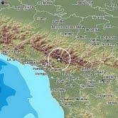 Terremoto in provincia di Lucca , M4.8, 25 gennaio ore 15.48