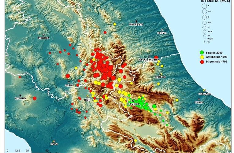 I terremoti nella STORIA: il grande terremoto del 2 febbraio 1703 a L'Aquila