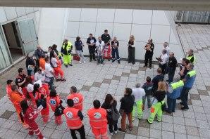 Alcuni momenti della formazione dei volontari