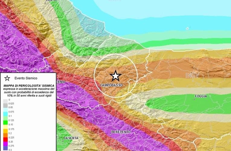 Terremoto M3.8 in Molise (14:08 del 20 dicembre)