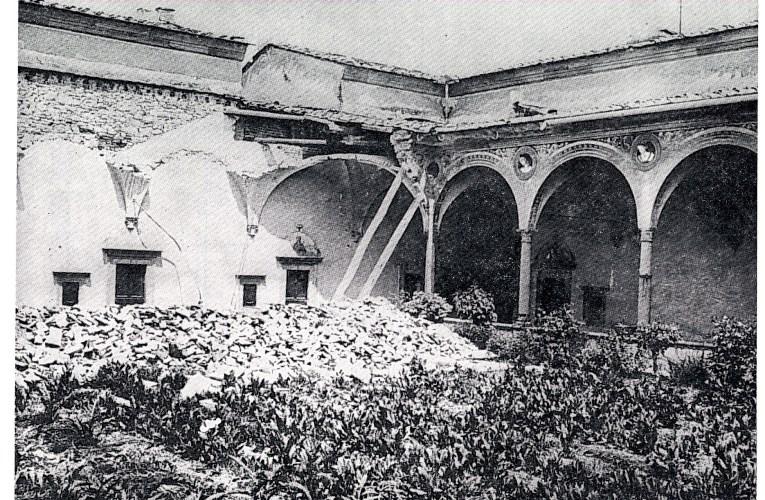 """I terremoti nella STORIA: 18 maggio 1895, il """"grande terremoto"""" di Firenze"""