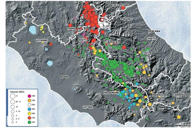 I terremoti nella STORIA: Il terremoto del Sorano del 24 luglio 1654