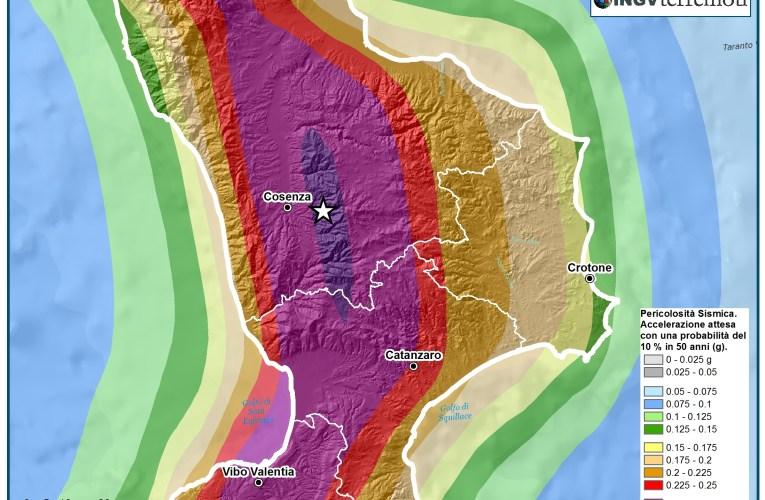 Evento sismico in provincia di Cosenza: aggiornamento e approfondimento