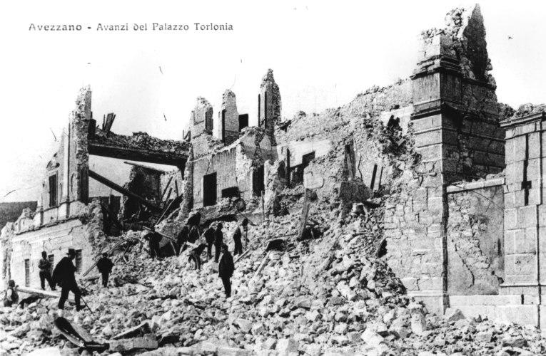 L'INGV ricorda il terremoto della Marsica del 1915