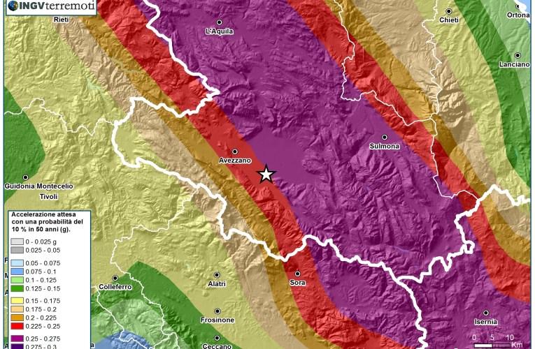 Evento sismico in provincia dell'Aquila, Ml 3.9 (Mw 4.1), 28 febbraio ore 04.16