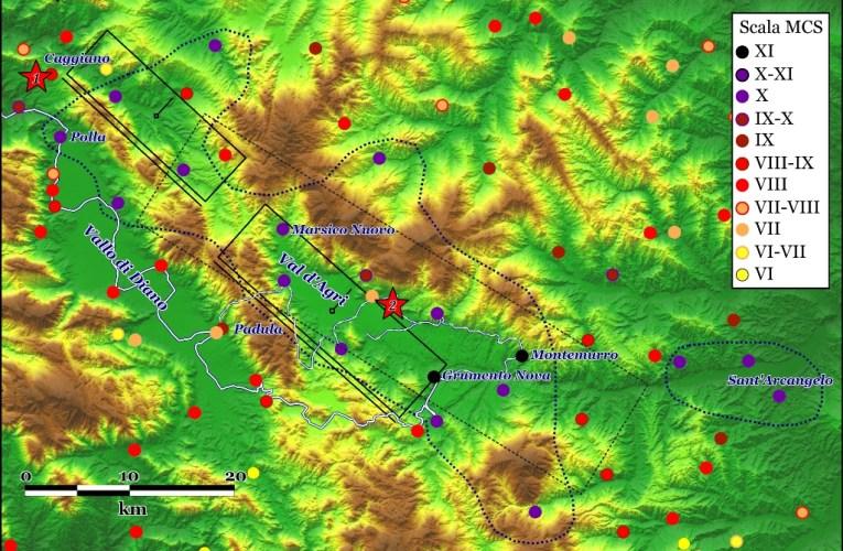 Il terremoto della Val d'Agri del 16 dicembre 1857, storia e geologia si interrogano per comprendere un grande terremoto di epoca pre-strumentale