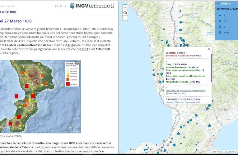 """Il Map Journal """"I terremoti nella Storia"""""""