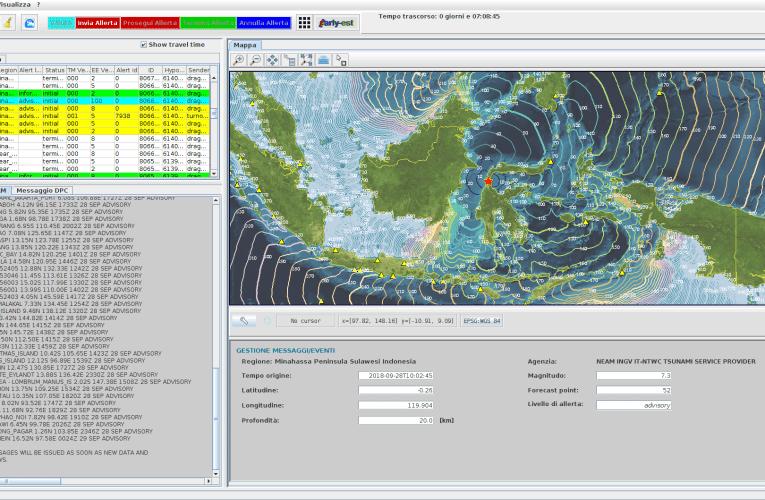 Terremoto di magnitudo M7.3 e tsunami in Indonesia, 28 settembre 2018