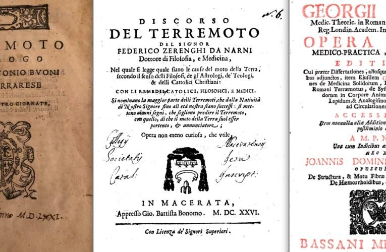 27 giugno 1719: due medici e un terremoto