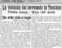 I terremoti del '900: il terremoto del 29 giugno 1919 nel Mugello