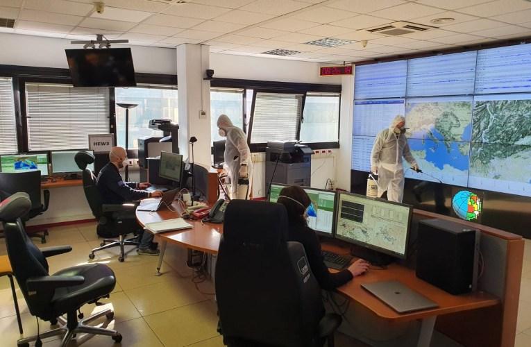 Il servizio di sorveglianza sismica e allerta tsunami ai tempi del COVID-19