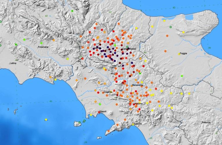 La distribuzione degli effetti del terremoto del 26 luglio 1805 in Molise