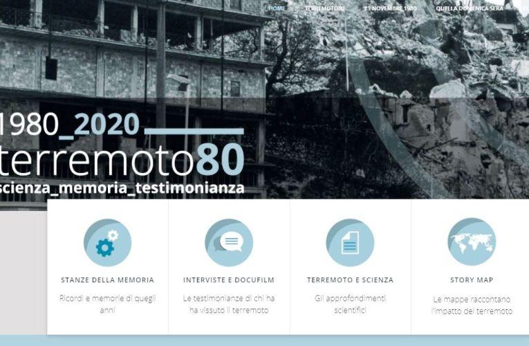 TERREMOTO80 tra scienza, memoria e testimonianza