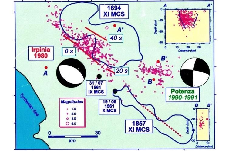TERREMOTO80 – La scossa principale e la sequenza sismica