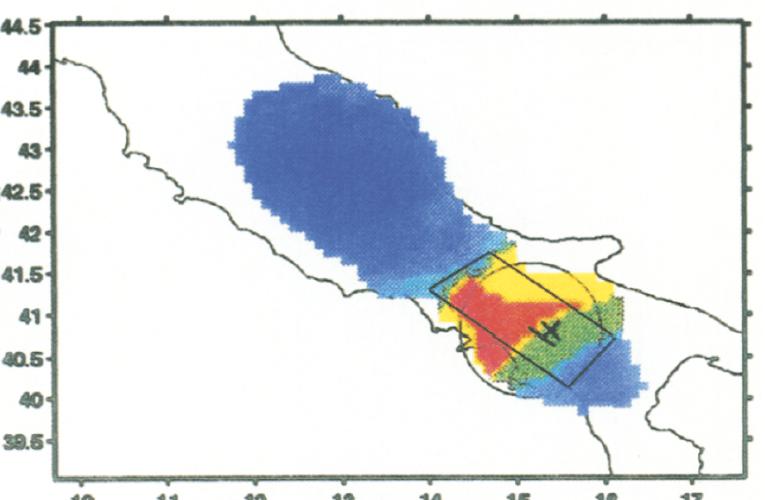 TERREMOTO80 – Variazione del tasso di sismicità precedente l'evento del 23 novembre 1980