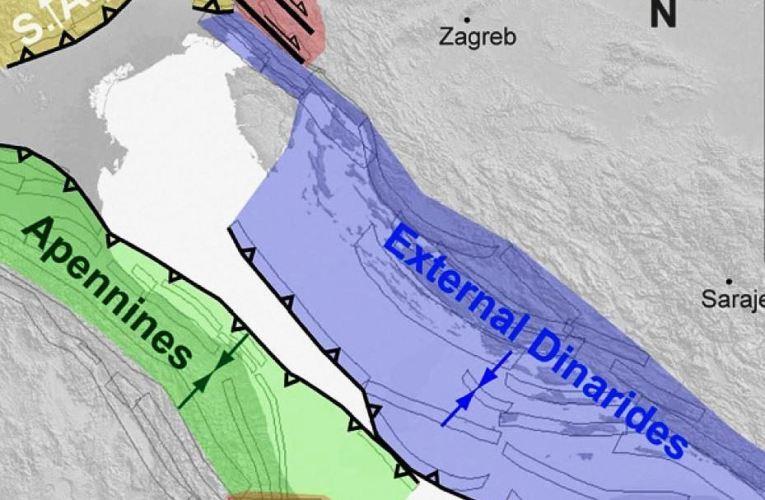 La sismotettonica nell'area della sequenza sismica in Mar Adriatico