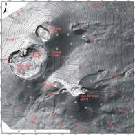 Mappa topografica della zona sommitale dell'Etna aggiornata al Dicembre 2015, recentemente pubblicata su Journal of Maps (Neri et al., 2017; Taylor & Francis Group) e liberamente scaricabili attraverso il portale internet della stessa rivista, all'indirizzo: http://www.tandfonline.com/doi/full/10.1080/17445647.2017.1352041?scroll=top&needAccess=true.