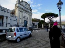 Fleri: Danni alla Chiesa di Maria Santissima del Rosario (Foto INGV).